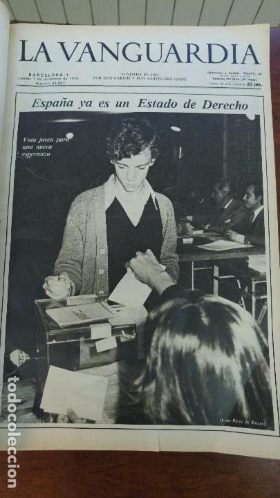 Coleccionismo Periódico La Vanguardia: 2 TOMOS LA VANGUARDIA 1973-1980. FRANCO TARRADELLAS JORDI PUJOL JUAN CARLOS ELECCIONES TRANSICION - Foto 17 - 118737715