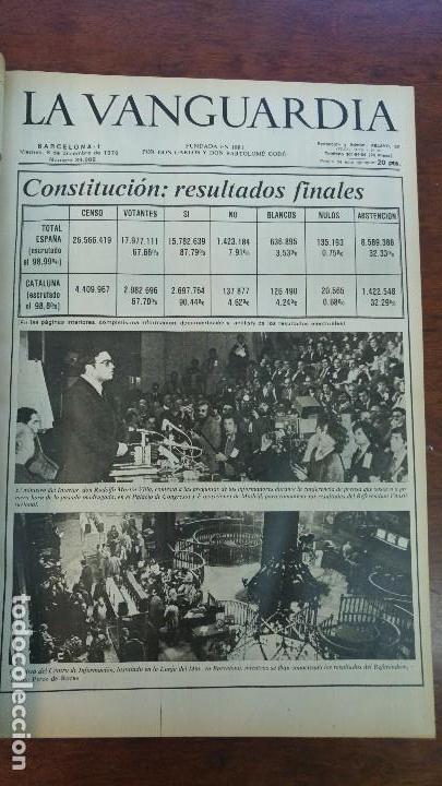 Coleccionismo Periódico La Vanguardia: 2 TOMOS LA VANGUARDIA 1973-1980. FRANCO TARRADELLAS JORDI PUJOL JUAN CARLOS ELECCIONES TRANSICION - Foto 18 - 118737715