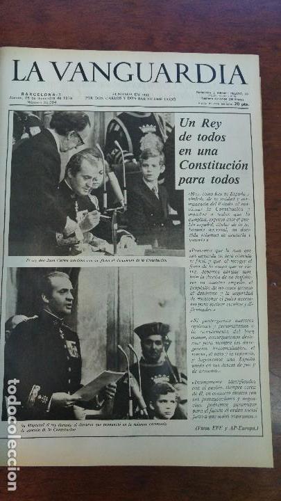Coleccionismo Periódico La Vanguardia: 2 TOMOS LA VANGUARDIA 1973-1980. FRANCO TARRADELLAS JORDI PUJOL JUAN CARLOS ELECCIONES TRANSICION - Foto 19 - 118737715