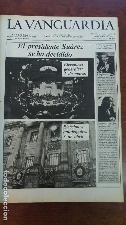 Coleccionismo Periódico La Vanguardia: 2 TOMOS LA VANGUARDIA 1973-1980. FRANCO TARRADELLAS JORDI PUJOL JUAN CARLOS ELECCIONES TRANSICION - Foto 20 - 118737715