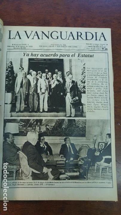 Coleccionismo Periódico La Vanguardia: 2 TOMOS LA VANGUARDIA 1973-1980. FRANCO TARRADELLAS JORDI PUJOL JUAN CARLOS ELECCIONES TRANSICION - Foto 24 - 118737715