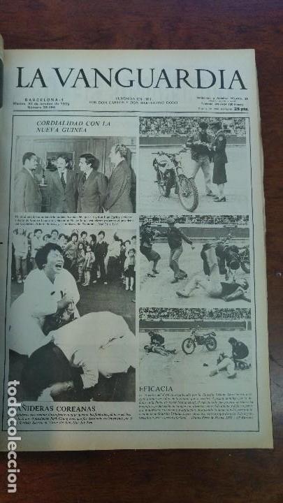 Coleccionismo Periódico La Vanguardia: 2 TOMOS LA VANGUARDIA 1973-1980. FRANCO TARRADELLAS JORDI PUJOL JUAN CARLOS ELECCIONES TRANSICION - Foto 28 - 118737715