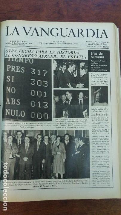 Coleccionismo Periódico La Vanguardia: 2 TOMOS LA VANGUARDIA 1973-1980. FRANCO TARRADELLAS JORDI PUJOL JUAN CARLOS ELECCIONES TRANSICION - Foto 29 - 118737715