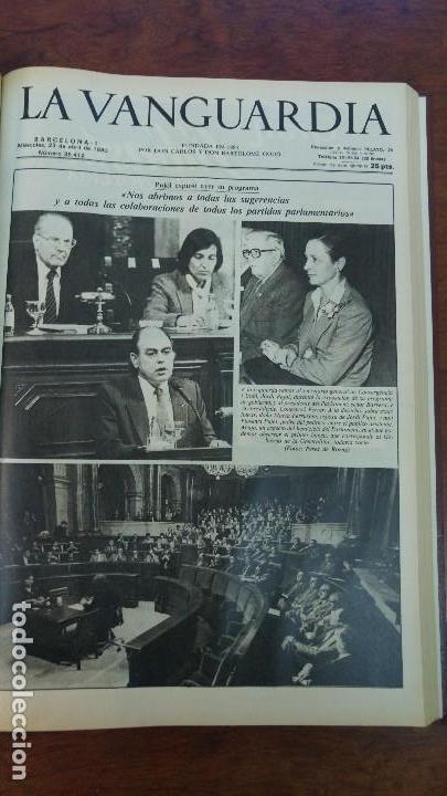 Coleccionismo Periódico La Vanguardia: 2 TOMOS LA VANGUARDIA 1973-1980. FRANCO TARRADELLAS JORDI PUJOL JUAN CARLOS ELECCIONES TRANSICION - Foto 32 - 118737715