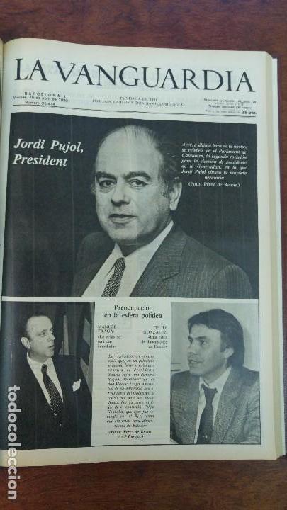 Coleccionismo Periódico La Vanguardia: 2 TOMOS LA VANGUARDIA 1973-1980. FRANCO TARRADELLAS JORDI PUJOL JUAN CARLOS ELECCIONES TRANSICION - Foto 33 - 118737715