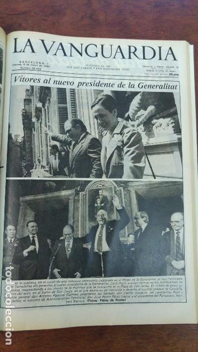 Coleccionismo Periódico La Vanguardia: 2 TOMOS LA VANGUARDIA 1973-1980. FRANCO TARRADELLAS JORDI PUJOL JUAN CARLOS ELECCIONES TRANSICION - Foto 34 - 118737715