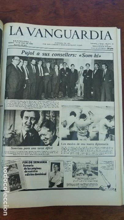 Coleccionismo Periódico La Vanguardia: 2 TOMOS LA VANGUARDIA 1973-1980. FRANCO TARRADELLAS JORDI PUJOL JUAN CARLOS ELECCIONES TRANSICION - Foto 35 - 118737715