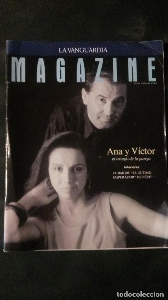 MAGAZINE LA VANGUARDIA-1997-ANA BELÉN-VICTOR MANUEL-SARA MONTIEL-PERE PORTABELLA (Coleccionismo - Revistas y Periódicos Modernos (a partir de 1.940) - Periódico La Vanguardia)