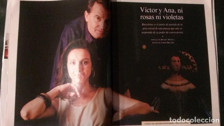 Coleccionismo Periódico La Vanguardia: MAGAZINE LA VANGUARDIA-1997-ANA BELÉN-VICTOR MANUEL-SARA MONTIEL-PERE PORTABELLA - Foto 2 - 122714395