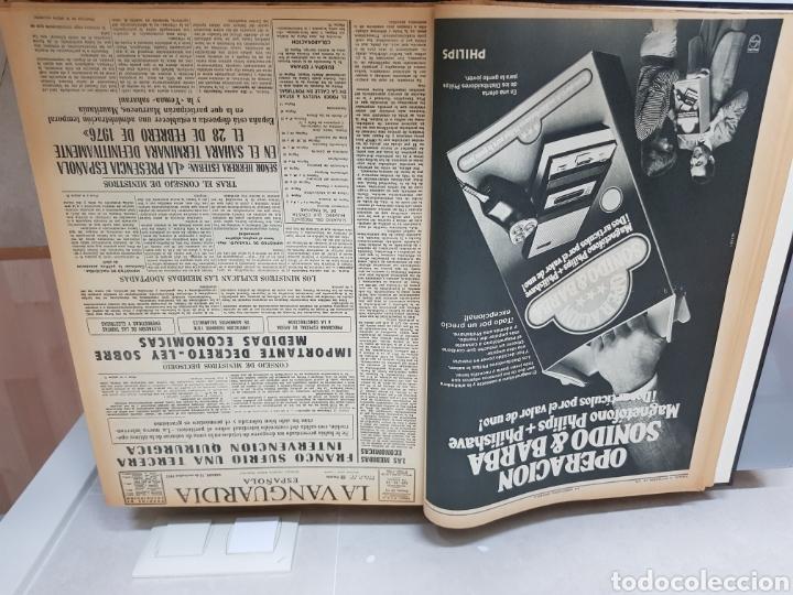 Coleccionismo Periódico La Vanguardia: Vol. ENCUADERNADO ENFERMEDAD Y MUERTE DE FRANCO 46X33cm - Foto 8 - 126014304
