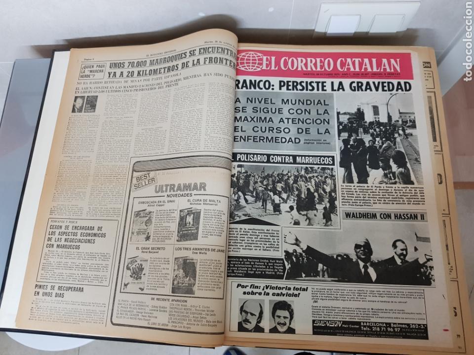 Coleccionismo Periódico La Vanguardia: Vol. ENCUADERNADO ENFERMEDAD Y MUERTE DE FRANCO 46X33cm - Foto 9 - 126014304