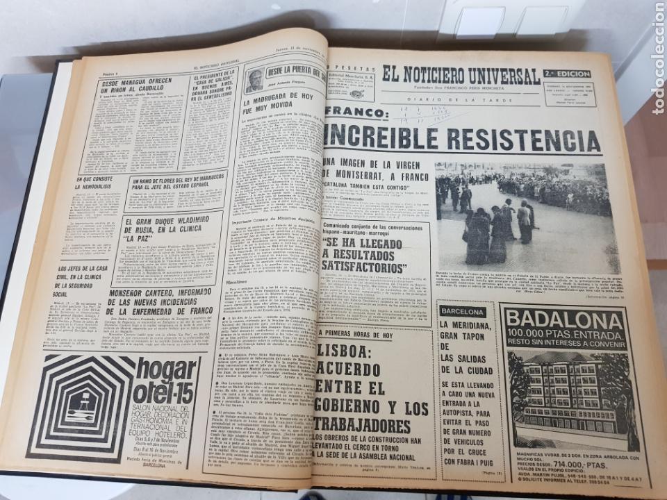 Coleccionismo Periódico La Vanguardia: Vol. ENCUADERNADO ENFERMEDAD Y MUERTE DE FRANCO 46X33cm - Foto 11 - 126014304