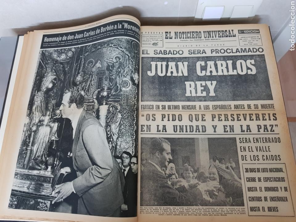 Coleccionismo Periódico La Vanguardia: Vol. ENCUADERNADO ENFERMEDAD Y MUERTE DE FRANCO 46X33cm - Foto 18 - 126014304
