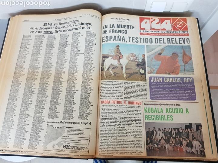 Coleccionismo Periódico La Vanguardia: Vol. ENCUADERNADO ENFERMEDAD Y MUERTE DE FRANCO 46X33cm - Foto 28 - 126014304