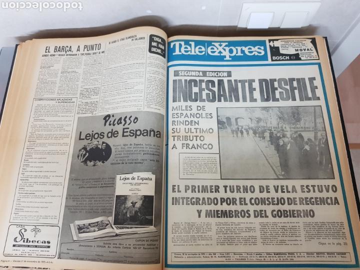 Coleccionismo Periódico La Vanguardia: Vol. ENCUADERNADO ENFERMEDAD Y MUERTE DE FRANCO 46X33cm - Foto 30 - 126014304