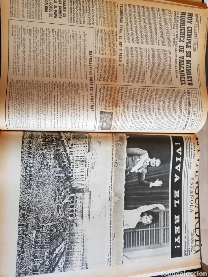 Coleccionismo Periódico La Vanguardia: Vol. ENCUADERNADO ENFERMEDAD Y MUERTE DE FRANCO 46X33cm - Foto 34 - 126014304