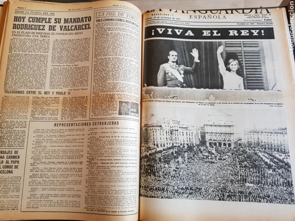 Coleccionismo Periódico La Vanguardia: Vol. ENCUADERNADO ENFERMEDAD Y MUERTE DE FRANCO 46X33cm - Foto 36 - 126014304