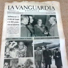 Coleccionismo Periódico La Vanguardia: LA VANGUARDIA 19 OCTUBRE DE 1966. Lote 131498322
