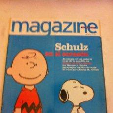 Coleccionismo Periódico La Vanguardia: MAGAZINE - AÑO 2000 - SCHULZ EN EL CORAZÓN. Lote 131699166