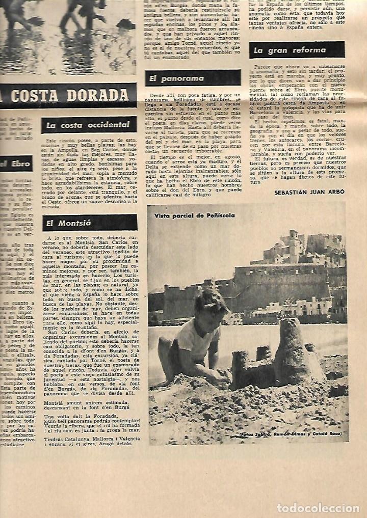 Coleccionismo Periódico La Vanguardia: AÑO 1965 ELS COLLEGATS OLOT FIGUERAS MONTSENY CERDANYA AMPOSTA PENISCOLA TURISMO DELTA EBRE - Foto 3 - 10713887