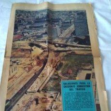 Coleccionismo Periódico La Vanguardia: 133-RECORTE CENTRAL DE PRENSA, LA VANGUARDIA, ABRIL DE 1971, SOLUCIONES PARA LA CRECIENTE CONGESTION. Lote 138676614