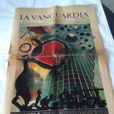 Coleccionismo Periódico La Vanguardia: 131-RECORTE CENTRAL DE PRENSA, LA VANGUARDIA, NOVIEMBRE 1970, PROYECCION MUNDIAL DE LA ESTETICA CATA. Lote 138872246