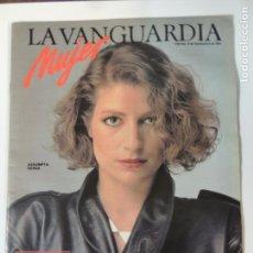 Colecionismo Jornal La Vanguardia: REVISTA SUPLEMENTO LA VANGUARDIA MUJER SEPTIEMBRE 1984 - ASSUMPTA SERNA SUSAN SONTAG. Lote 142703806