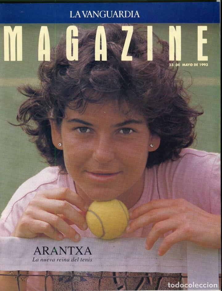 ARANCHA SANCHEZ VICARIO ENTREVISTA/REPORTAJE 6 PAGINAS 8 FOTOS - PILAR MIRÓ 7 PAG.3 FOTOS AÑO 1993 (Coleccionismo - Revistas y Periódicos Modernos (a partir de 1.940) - Periódico La Vanguardia)