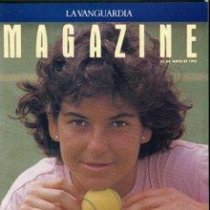 Coleccionismo Periódico La Vanguardia: ARANCHA SANCHEZ VICARIO ENTREVISTA/REPORTAJE 6 PAGINAS 8 FOTOS - PILAR MIRÓ 7 PAG.3 FOTOS AÑO 1993. Lote 142736382
