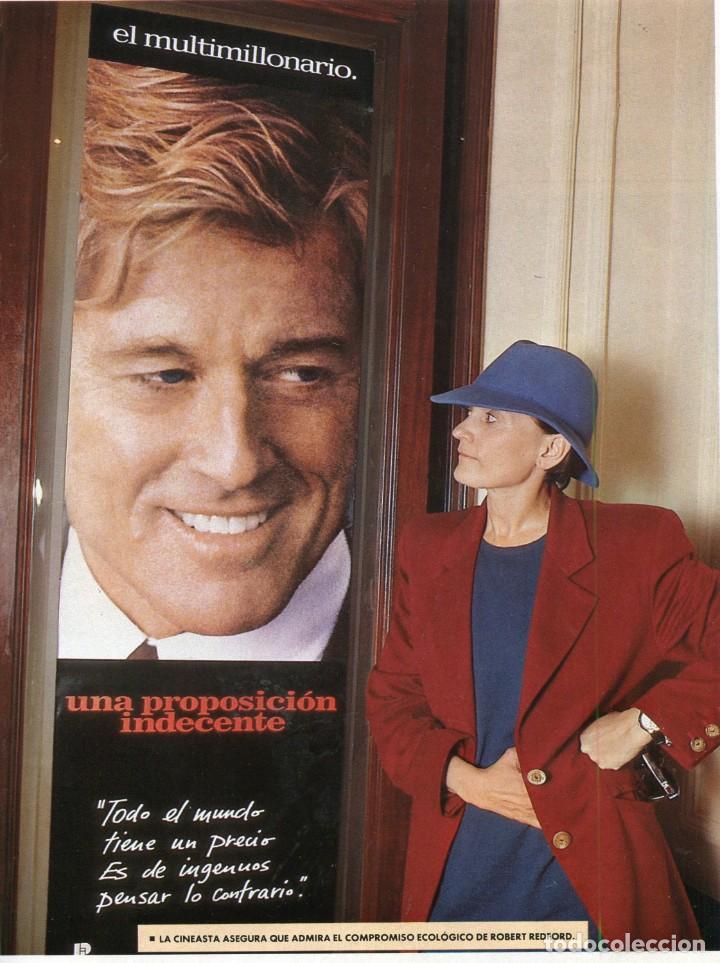 Coleccionismo Periódico La Vanguardia: ARANCHA SANCHEZ VICARIO ENTREVISTA/REPORTAJE 6 PAGINAS 8 FOTOS - PILAR MIRÓ 7 PAG.3 FOTOS AÑO 1993 - Foto 6 - 142736382