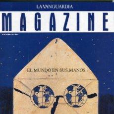 Coleccionismo Periódico La Vanguardia: SHARON STONE ENTREVISTA 4 PAGINAS 3 FOTOS - ROBERT KENNEDY REPORTAJE 7 PAGINAS 8 FOTOS JUNIO 1993. Lote 142739746