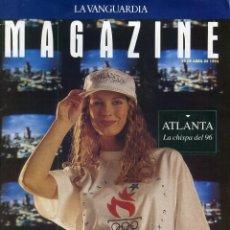 Coleccionismo Periódico La Vanguardia: NBA BASKET USA DREAM TEAM 7 PAGINAS 17 FOTOS - ATLANTA JUEGOS OLIMPICOS 9 PAG. 11 FOTOS ABRIL 1993. Lote 142739998