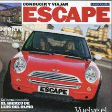 Coleccionismo Periódico La Vanguardia: CONDUCIR Y VIAJAR REVISTA ESCAPE MARZO 2001-MINI MODA RETRO - VER SUMARIO COMPLETO EN FOTO ADICIONAL. Lote 142833874