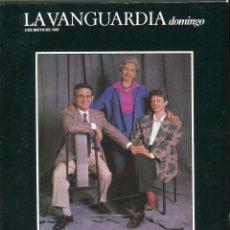 Colecionismo Jornal La Vanguardia: ANTHONY PERKINS ENTREVISTA - TERENCI/ANNA MOIX Y SU MADRE VER IMAGEN DEL SUMARIO AÑO 1987. Lote 142994330