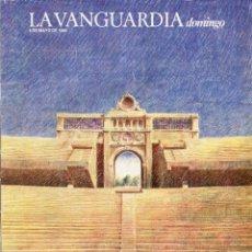 Coleccionismo Periódico La Vanguardia: BARCELONA 92 IMAGENES DE UN AMBICIOSO PROYECTO 25 PAGINAS 23 IMAGENES VER DEL SUMARIO AÑO 1986. Lote 142995726