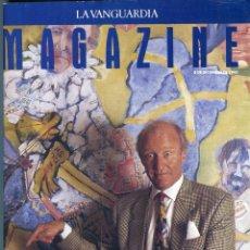 Coleccionismo Periódico La Vanguardia: TXIKI BEGIRISTAIN BARÇA ENTREVISTA - ESTACIONES DE TREN ABANDONADAS VER DEL SUMARIO AÑO 1992. Lote 143006466