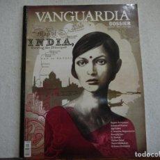 Coleccionismo Periódico La Vanguardia: DOSSIER LA VANGUARDIA N.º 27. INDIA - ABRIL / JUNIO 2008 . Lote 144473198