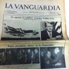 Coleccionismo Periódico La Vanguardia: LA VANGUARDIA - 26 ABRIL 1980. Lote 145953550