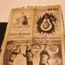 Coleccionismo Periódico La Vanguardia: PAGINA DE LA VANGUARDIA AÑO 1944. Lote 147994144