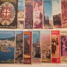 Coleccionismo Periódico La Vanguardia: CIEN AÑOS DE VIDA CATALANA + LA VIDA DEL MUNDO - 1881 1981 - 50 FASCICULOS. Lote 150669158