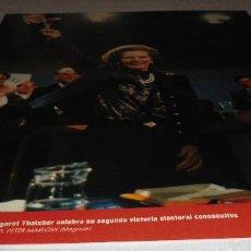 Coleccionismo Periódico La Vanguardia: FOTOS QUE HACEN HISTORIA - EL MUNDO ENTRE DOS GUERRAS 1945-1991 MARGARET THATCHER. Lote 151452098
