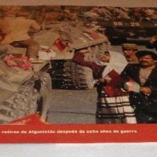Coleccionismo Periódico La Vanguardia: FOTOS QUE HACEN HISTORIA - EL MUNDO ENTRE DOS GUERRAS 1945-1991 LAS TROPAS SOVIETICAS SE RETIRAN. Lote 151452374