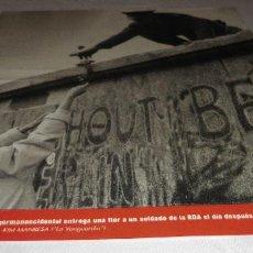 Coleccionismo Periódico La Vanguardia: FOTOS QUE HACEN HISTORIA - EL MUNDO ENTRE DOS GUERRAS 1945-1991 UNA GERMANOCCIDENTAL ENTREGA. Lote 151452818