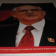 Coleccionismo Periódico La Vanguardia: FOTOS QUE HACEN HISTORIA - EL MUNDO ENTRE DOS GUERRAS 1945-1991 MIJALI GORBACHERV LA VANGUARDIA. Lote 151453162