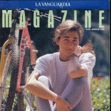 Coleccionismo Periódico La Vanguardia: MAGAZINE- DALÍ LA OBSESION POR LOS PANES 8 PAGINAS 9 FOTOS (TRES DE DALÍ)-VER SUMARIO-MAYO 1993. Lote 151974870