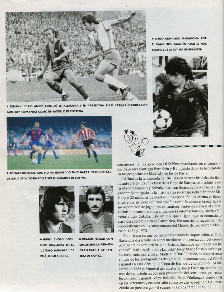 Coleccionismo Periódico La Vanguardia: MAGAZINE -FUTBOL ITALIA'90 35 PAGINAS MAS DE 90 FOTOS DE EQUIPOS, JUGADORES...EXCELENTE -AÑO 1990 - Foto 5 - 152479846