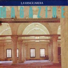 Coleccionismo Periódico La Vanguardia: MAGAZINE -JERUSALÉN TRES VECES SANTA 11 PAG.16 FOTOS- MIGUEL DELIBES ENTREVISTA 6 PAGINAS -AÑO 1990. Lote 152482026