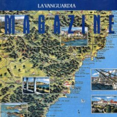 Coleccionismo Periódico La Vanguardia: MAGAZINE-COSTA BRAVA UN SIGLO DE TURISMO 10 PAG.20 FOT.-MOMPÓ PINTOR 4 PAG.5 FOT-VER SUMARIO 1991. Lote 152512742