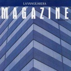 Coleccionismo Periódico La Vanguardia: MAGAZINE- BARCELONA EL CAMBIO FOTOGRAFIAS MANEL ARMENGOL 14 PAGINAS 18 FOTOS -VER SUMARIO 1992. Lote 152513338
