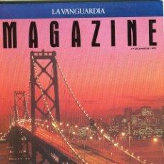 Coleccionismo Periódico La Vanguardia: MAGAZINE-SAN FRANCISCO AYER HIPPIES,HOY YUPPIES 8 PAG.14 FOTOS-CALIFORNIA LA FALLA DE S. ANDRES 1992. Lote 152517666